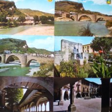 Postales: GRAUS (HUESCA) LOTE 6 POSTALES AÑOS 60/70 . Lote 19053420