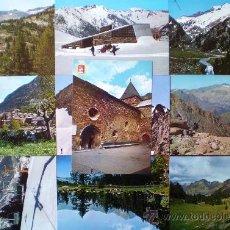 Postales: VALLE DE BENASQUE (HUESCA) LOTE 10 POSTALES AÑOS 60/70 . Lote 19053657