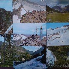 Postales: BENASQUE (HUESCA) LOTE 8 POSTALES AÑOS 60/70 . Lote 19053713