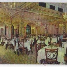 Postales: TARJETA POSTAL HOTEL CENTENARIO COMEDOR ZARAGOZA . Lote 27350382