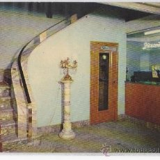 Postales: TARJETA POSTAL HOTEL CENTENARIO COMEDOR RECEPCION ZARAGOZA. Lote 27007430