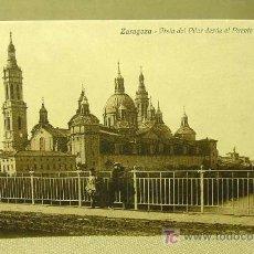 Postales: ANTIGUA POSTAL, ZARAGOZA, 1917, Nº 12158, ARRIBAS, VISTA DEL PILAR, PUENTE DE PIEDRA. Lote 19243156