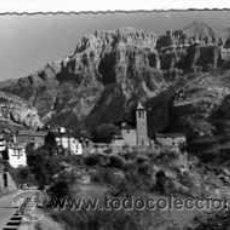 Postales: POSTAL TORLA PIRINEOS ARAGONESES VISTA PARCIAL Y EL MONDARRUEGO AL FONDO. Lote 19261101