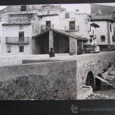 Cartoline: POSTAL FOTOGRAFICA SIN CIRCULAR VISTAS DE IGLESUELA DEL CID,TERUEL.. Lote 26500553