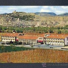 Postales: POSTAL DE CALATAYUD (ZARAGOZA): HOTEL ROGELIO (ED.SICILIA). Lote 19789407