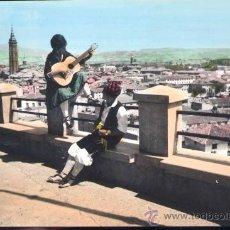 Postales: CALATAYUD (ZARAGOZA).- RONDA BATURRA AL FONDO TORRE SANTA MARÍA. Lote 19821289