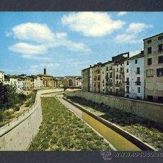 Postales: POSTAL DE BARBASTRO (HUESCA): CANALIZACION DEL RIO VERO (ED.SICILIA NUM.9). Lote 19821902