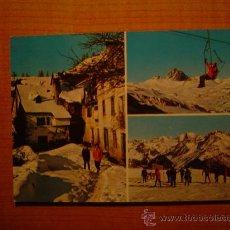Postales: POSTAL SALLENT DE GALLEGO(ESTACION INVERNAL ) ESCRITA. Lote 19859743