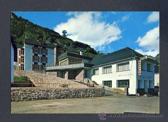 POSTAL DE PANTICOSA (HUESCA): HOTEL ESCALAR (ED.SICILIA) (Postales - España - Aragón Moderna (desde 1.940))