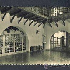 Postales: POSTAL DE ORIHUELA DE TREMEDAL (TERUEL) : RESIDENCIA PADRE POLLANCO, HALL (ED.ARRIBAS NUM.10). Lote 19981031