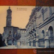 Postales: POSTAL ZARAGOZA LA UNIVERSIDAD. Lote 27288859
