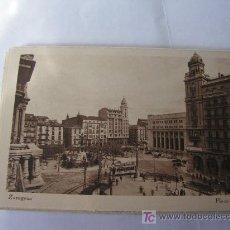 Postales: + TRANVIA. ZARAGOZA EDICIONES ARRIBAS. PLAZA DE ESPAÑA.. Lote 20113850