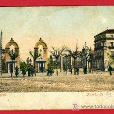 Postales: ZARAGOZA, PUERTA DE STA. ENGRACIA, P41512. Lote 20180686