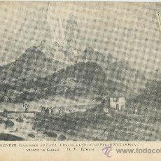 Cartoline: PIRINEOS.CAZA DEL OSO EN EL PICO MIDI DE OSSAU. GRABADO DE GORSE. HACIA 1900.. Lote 20711426