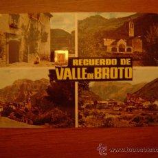 Postales: POSTAL VALLE DE BROTO OTO DIVERSOS ASPECTOS SIN CIRCULAR. Lote 20952643