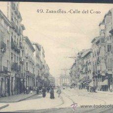 Postales: ZARAGOZA.- CALLE DEL COSO. Lote 21225801