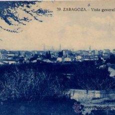 Postales: ZARAGOZA.- VISTA GENERAL. Lote 21225981