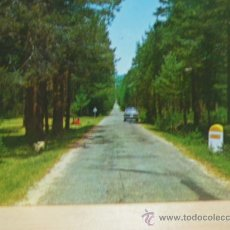 Postales: + BRONCHALES TERUEL AÑOS 70 SEAT 1500. Lote 21642614