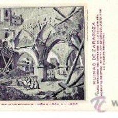 Postales: TARJETA POSTAL DE ZARAGOZA Nº 12. CENTENARIO DE LOS SITIOS EN 1908. RUINAS DE ZARAGOZA.. Lote 21731801
