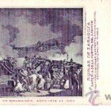 Postales: TARJETA POSTAL DE ZARAGOZA. CENTENARIO DE LOS SITIOS 1908. Nº 18. RUINAS DE ZARAGOZA.. Lote 21733137