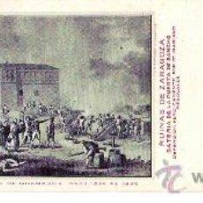 Postales: TARJETA POSTAL DE ZARAGOZA. CENTENARIO DE LOS SITIOS 1908. Nº 19. RUINAS DE ZARAGOZA.. Lote 21733167