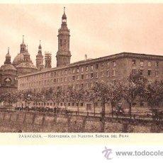 Postkarten - TARJETA POSTAL DE ZARAGOZA. HOSPEDERIA DE NUESTRA SEÑORA DEL PILAR. FOTO MARTIN CHIVITE. - 21997751