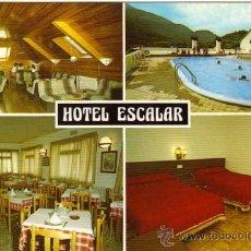 Postales: PANTICOSA - HOTEL ESCALAR. Lote 21997755