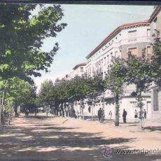 Postales: CALATAYUD (ZARAGOZA).- PASEO DE CALVO SOTELO. Lote 22350304