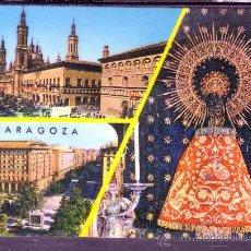 Postales: RECUERDO DE ZARAGOZA - VIRGEN DEL PILAR - ZARAGOZA . Lote 22691496