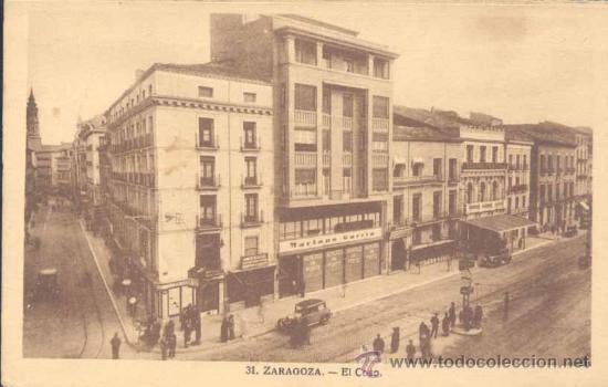 ZARAGOZA.- EL COSO (Postales - España - Aragón Antigua (hasta 1939))