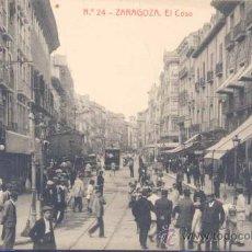 Postales: ZARAGOZA.- EL COSO. Lote 22785797