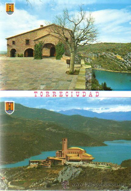 DESPLEGABLE 10 POSTALES TORRECIUDAD - ED.SICILIA ZARAGOZA (Postales - España - Aragón Moderna (desde 1.940))