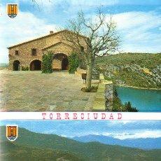 Postales: DESPLEGABLE 10 POSTALES TORRECIUDAD - ED.SICILIA ZARAGOZA. Lote 24326654