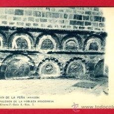 Postkarten - san juan de la peña, huesca, sepulcros de la nobleza aragonesa, p44742 - 23123904