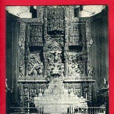 Postales: HUESCA, ALTAR MAYOR DE LA CATEDRAL, P44753. Lote 23124030