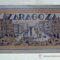 Postales: RECUERDO, ALBUM, FOTO, POSTAL, 20 POSTALES, ZARAGOZA, 14 X 9 CM. Lote 24087134