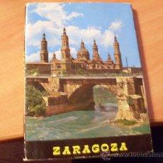 Postales: PACK 10 POSTALES EN DESPLEGABLE DE ZARAGOZA (POS1). Lote 26468473