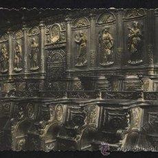 Postales: POSTAL DE HUESCA Nº15 CATEDRAL SILLERIA DEL CORO. Lote 23371477