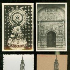 Postales: LOTE DE 20 TARJETAS POSTALES DE ZARAGOZA.. Lote 23677354