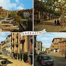 Postales: ALTO ARAGÓN HUESCA Nº 373 BARBASTRO FOTO PEÑARROYA. Lote 24268346