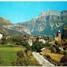 Postales: HUESCA. TORLA. VISTA GENERAL Y MONDARRUEGO AL FONDO.. Lote 24329402