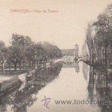 Postales: ZARAGOZA, PLAYA DEL TORRERO, EDITOR: NO LO DICE, CIRCULADA (VER DORSO). Lote 24456471