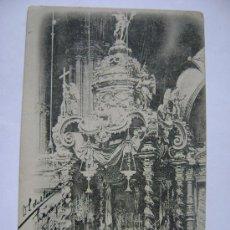 Postales: POSTAL ANTIGUA DE ESPAÑA CIRCA 1900 ZARAGOZA CAPILLA DEL SANTO CRISTO DE LA SEO. Lote 24580122