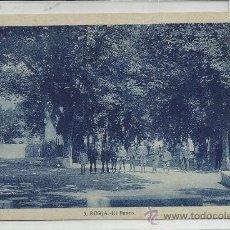 Postales: BORJA-5-EL PASEO(REF-487). Lote 25564229