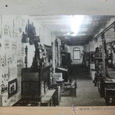 Postales: ZARAGOZA 1908. EXPOSICION HISPANO FRANCESA. SALA PEDAGOGIA. POSTAL FOTOGRAFICA. COYNE. Lote 25885493