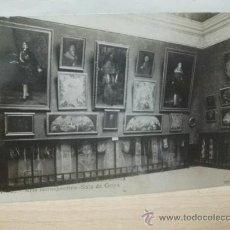 Postales: ZARAGOZA 1908. EXPOSICION HISPANO FRANCESA. SALA FRANCISCO DE GOYA. POSTAL FOTOGRAFICA. COYNE. Lote 25885584