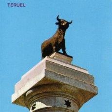 Postales: TERUEL Nº 516 MONUMENTO AL TORICO SIN CIRCULAR EDICIONES PARÍS . Lote 26014237
