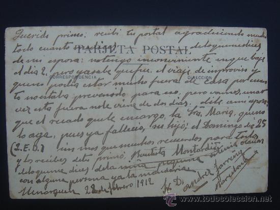Postales: DORSO DE LA POSTAL - Foto 2 - 27117528