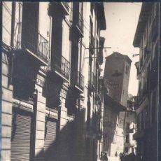 Postales: CALATAYUD ( ZARAGOZA).- CALLE DE DATO Y TORRE INCLINADA DE SAN PEDRO. Lote 27305985