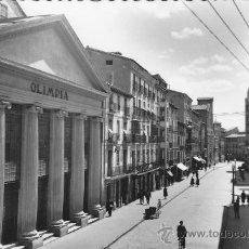 Postales: POSTAL HUESCA COSO ALTO TEATRO OLIMPIA. Lote 27377337